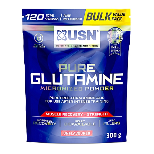 Pure Glutamine 150g + 150g - 120 Servings