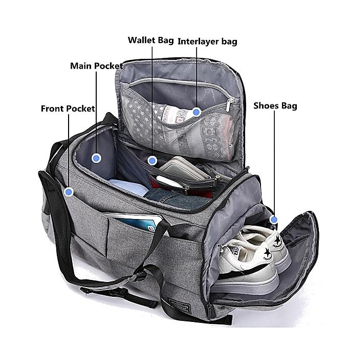 Buy Fashion Mens Travel Bag Duffle Bag Large Capacity Gym Bag With