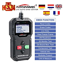 OBD2 Scanner KW590 Car Auto Diagnostic Scanner Multi-languages Russian Better Than AD310 KW806 MS509 OBDII code reader LBQ