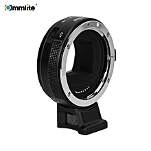 Commlite CM-EF-E HS Electric High Speed Lens Mount Adapter Ring AF Auto Focus for  EF/ EF-S Lens to E-Mount Camera for Sony A9/ A7R2/ A7M2/ A6500/ A6300/ A7/ A6000/ A5100/ NEX-7/ NEX-5N/ NEX-5/ NEX-3C with CDAF PDAF Switch USB Firmware Update