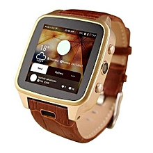 High Quality M8 Bluetooth Smart Watch 8G Android 4.2 Smart PhoneSmartwatch With SIM Card 3MP Camera GPS WIFI CXF123 (Color:Gold)