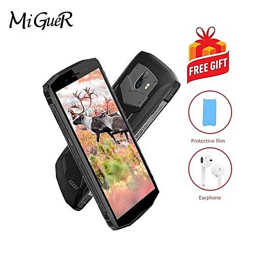 "BV5800 5.5""HD IP68 Waterproof Mobile Phone 5580mAh Android 8.1 MT6739 Quad Core 2GB+16GB Smartphone"