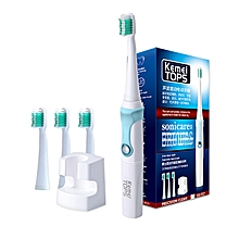 Refined 360 Degree To Charge Electric Toothbrush Ultrasonic Tooth Whitening 30000 / SEC Professional Teeth Protection Brush 907