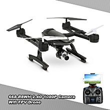 668-R8WH 2.4G 4CH 1080P Camera Wifi FPV Drone Altitude Hold One Key Return G-sensor Quadcopter RTF