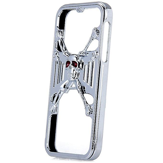 Buy Hichina Silver Jail Break 3D Skull Metal per Frame Case with ...