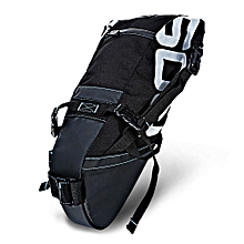 131414 Water-resistant 8L Bicycle Tail Bag Saddle Tube Pouch