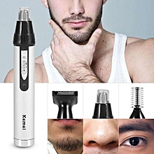 3 In 1 Electric Mens Hair Removal Nose Ear Temple Trimmer Clipper Shavers Grooming Kit