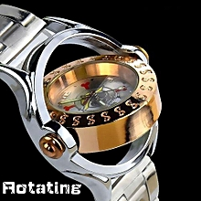 One Piece Boy Teen's Rotating Watches(Color:as Pic)