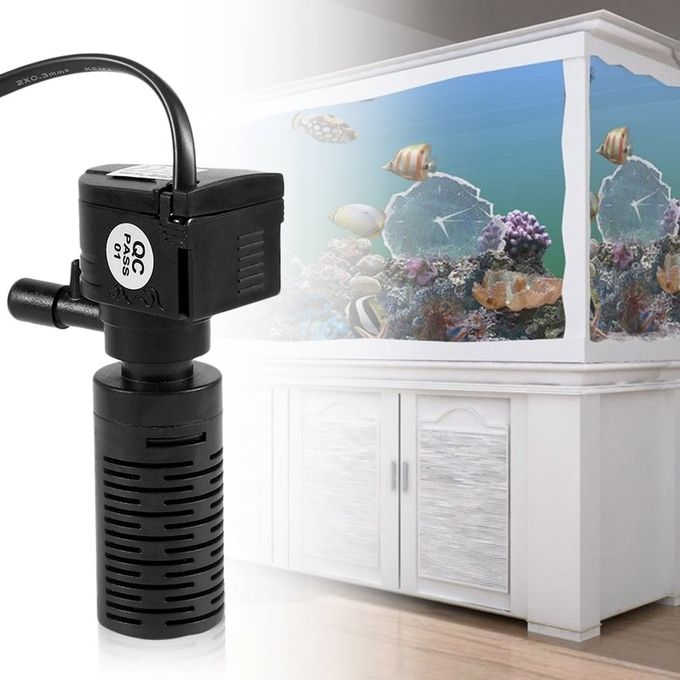 Generic ultra quiet 3 in 1 aquarium purifier fish tank for Quiet fish tank filter