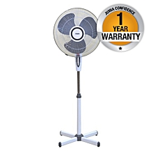 "MFS1602/GW - Stand Fan 16"", Grey & White"