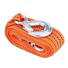 4 Meter Load 3 Ton Car Trailer Towing Rope Strap Tow Cable With Hooks Emergency Vehicle Tool