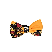 Yellow/Black Black Band Bowtie