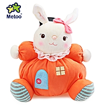 Plush Doll Toy Birthday Christmas Gift For Baby - Orangepink