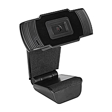 HD 12.0MP USB Webcam Web Computer Camera Digital Video with Built-in Microphone Black