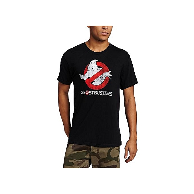 8cd0eefccd4 Fashion Man Mad Engine, Ghostbusters Men's Logo To Go Printed T Shirts  Short Sleeve Funny Tee