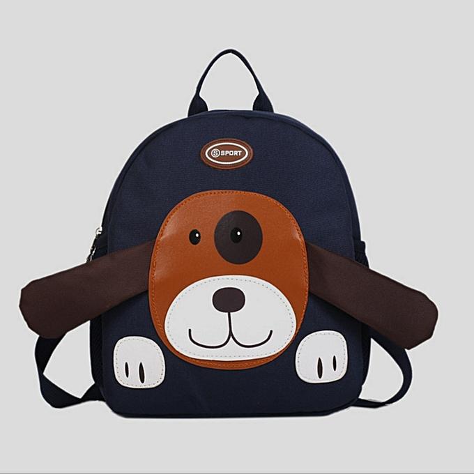 guoaivo Baby Boys Girls Kids Bag Dog Pattern Cartoon Backpack Toddler  School Bags 8991abf196302