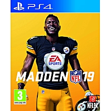 PS4 Game Madden NFL 19