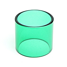 6 Color Replacement Transparent Pyrex Glass Tube Tank Sleeve For TFV8 Baby Beast Green
