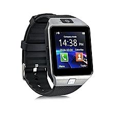 Dz09 Bluetooth Smart Watch with Camera-Silver