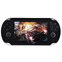 Video Game Console 8GB  4.3 Inch MP5 Players(Black)