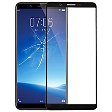 Front Screen Outer Glass Lens for Vivo Y71(Black)