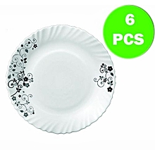Mystrio Black 6pc Dinner Plate Set
