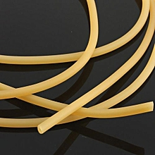 Natural Latex Rubber Band 1.7x4.5mm Surgical Tube Elastic For Outdoor 1/2/5/10m
