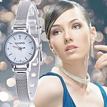 Woman Mens Retro Design Alloy Band Analog Alloy Quartz Wrist Watch