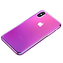 Baseus Glow Two Color-changing Electroplating TPU Case for iPhone XS