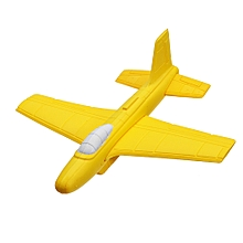 Softoys Hand Thrown Eva Foam Plane Toy Safe Toys For Children Outdoor Ruggedness Arcing Fighter-