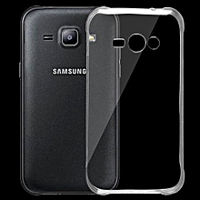 For Samsung Galaxy J1 Ace / J110H 0.75mm Ultra-thin Transparent TPU Protective Case