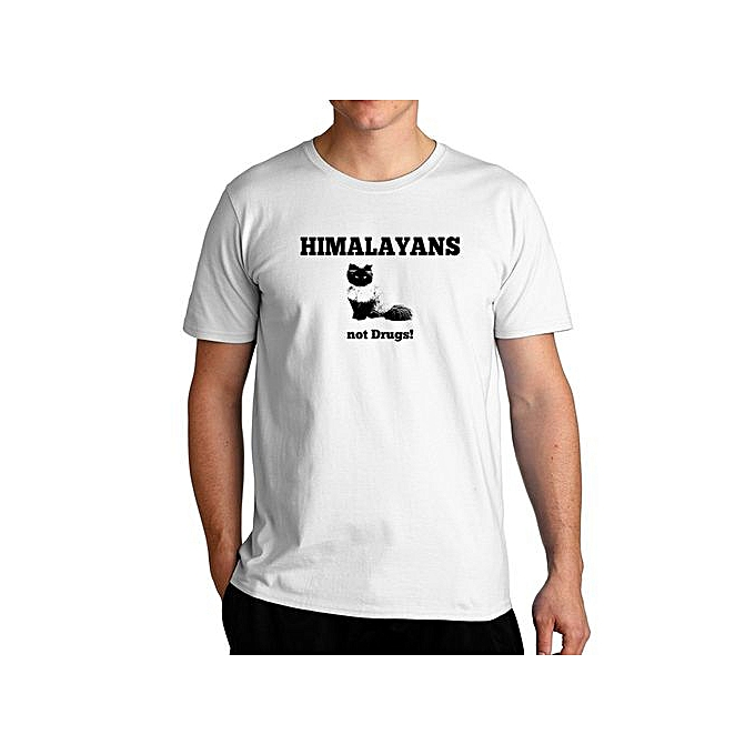 7b0f13c5 Fashion Himalayans Not Drugs Cool T-Shirt For Men @ Best Price ...