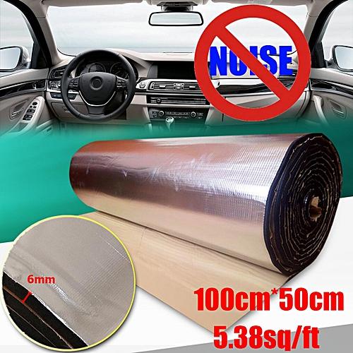 generic 100cm x 50cm heat sound deadener door engine hood
