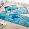 Flannel Floor Mat Kitchen Home Door Mats Long Kitchen Carpet Bedroom Anti-skid Mat Multi-purpose Mat 40 x 60 cm
