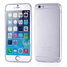 bluerdream-0.3mm Clear Rubber Soft TPU Cover Case For IPhone 6 4.7inch Transparent-Clear