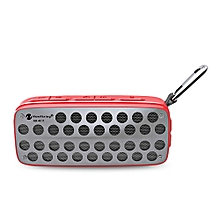 NR - 4011 Waterproof Wireless Bluetooth Speaker Stereo Sound Player-RED