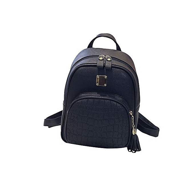 6cd732ee6281 Xingbiaocao New Fashion Women Backpacks Girl School Bag High Quality Ladies  Bags BK -black