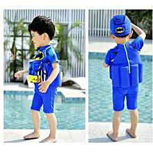 Children's Swimming Training Clothes Boys Girls Foam Detachable Buoyancy Sports Spider Cartoon Swimwear