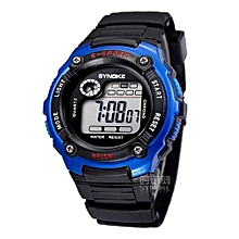 Kids Watches Children LED Digital Watch Girls Wrist Watch Boys Clock Child Sport Digital-watch For Girl Boy Surprise Gift(Blue)