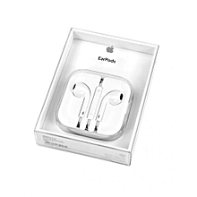 EarPods With Remote & Mic - White.
