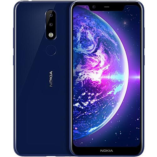 X5 4G Phablet 5.86 Inch 3GB RAM 32GB ROM 3060mAh- blue