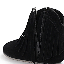 57468ce24cae6 Baby Girl Tassel Snow Boots Infant Toddler Newborn Warming Shoes-Black