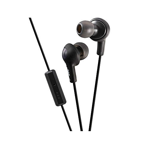 HA-FR6 Inner Ear Earphones with Remote & Mic - Black