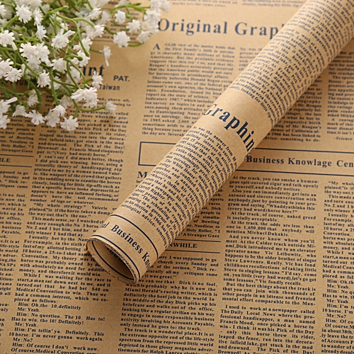 Buy generic wrapping paper flower packaging paper waterproof 4 color wrapping paper flower packaging paper waterproof 4 color newspaper gift printing festival ornament mightylinksfo