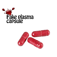 Halloween Fake Blood Plasma Red Pill Cosplay Party Horror Trick Toys red