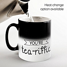 Personalised Magic Mug - Tea Riffic