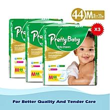 Disposable diaper size 3, M44*3