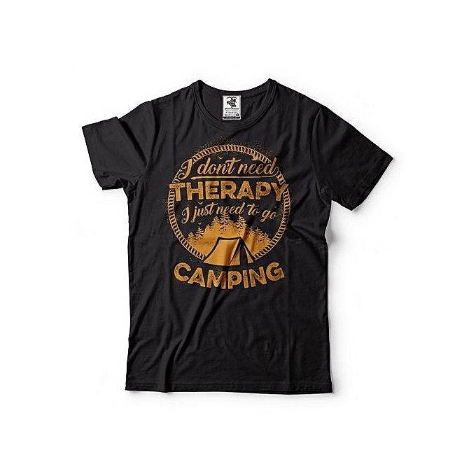 056774df6 Fashion Camping T-Shirt Funny Camping Outdoor Life Tee Shirt @ Best ...