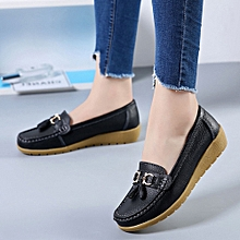 Generic Women Casual  Wedges Soft Bottom Outdoor Leisure Lightweight Peas Boat Shoes  A1