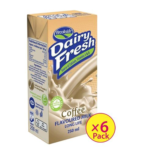Dairyfresh Flavored Milk-Coffee (6 Pack)
